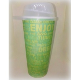 VASO 18 OZ CON TAPA MOVIL - YOUNG