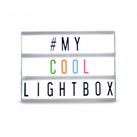 CINEMA LIGHTBOX A4 - COLORES