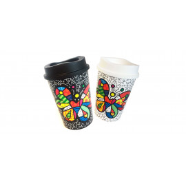 MUG CAFE X 2 - by BRITTO